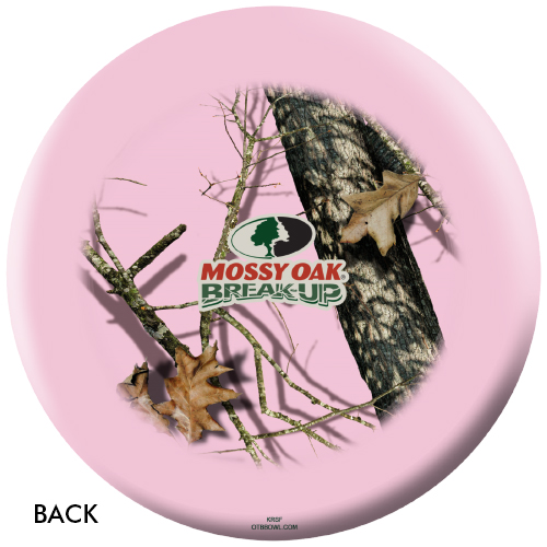 OTBB Mossy Oak Pink Bowling Ball