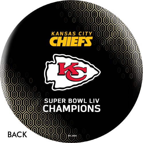 OTBB Super Bowl LIV Champions Chiefs V2 Bowling Ball