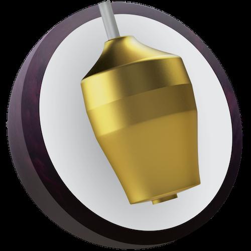 Ebonite Stinger Plum Pearl Bowling Ball Core