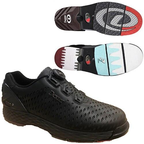 Dexter THE C9 Lazer Mens Bowling Shoes Color Black/Grey