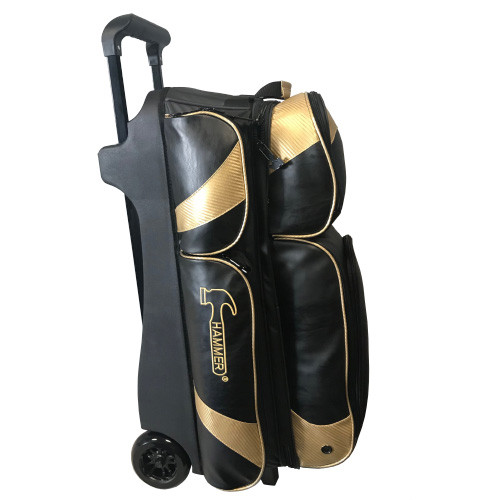 Hammer Premium 3 Ball Roller Bag Black/Gold