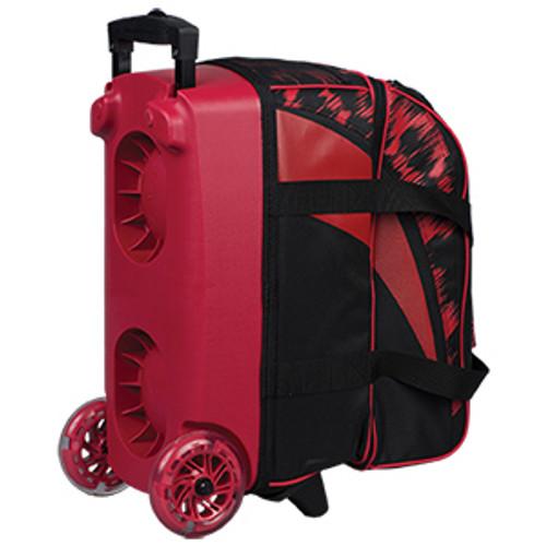 KR Strikeforce Cruiser Scratch 2 Ball Roller Bag Red
