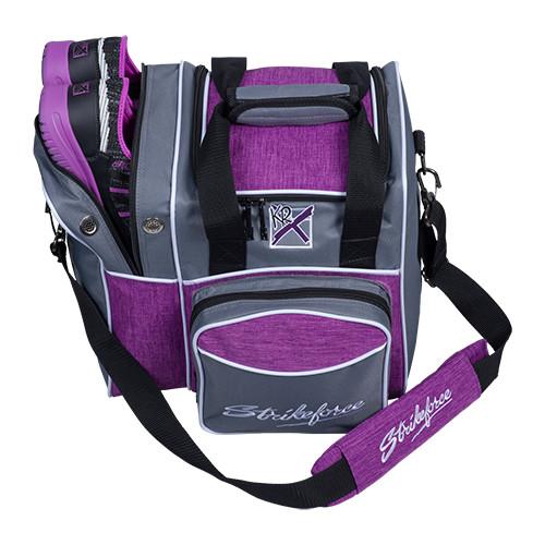 KR Strikeforce Flexx Single Tote Bag Grey/Purple
