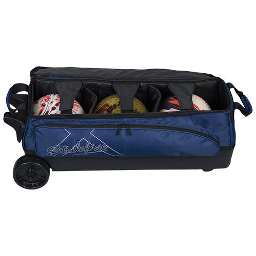 KR Strikeforce Hybrid X 3 Ball Roller Bag Navy