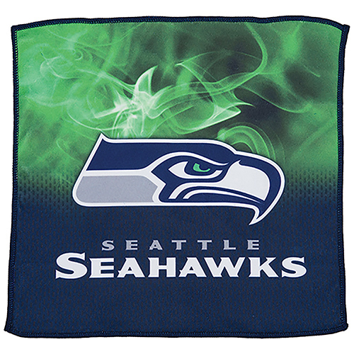 KR Strikeforce NFL on Fire Towel Seattle Seahawks