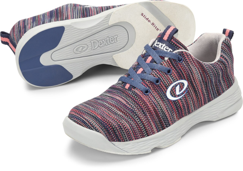 Dexter Abby Womens Bowling Shoes Pink/Blue/Multi