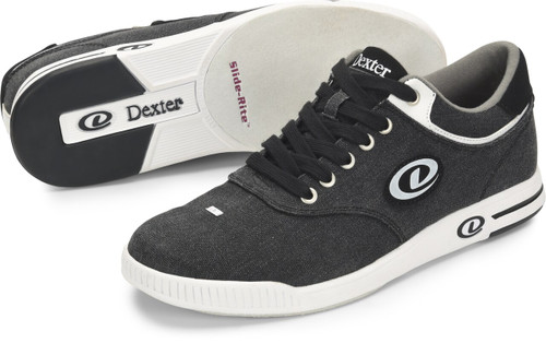 Dexter Kory III Mens Bowling Shoes Black/White