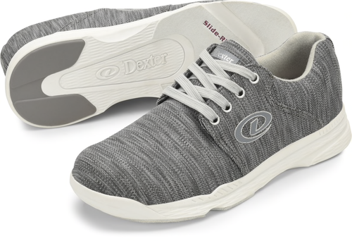 Dexter Winner Mens Bowling Shoes Grey
