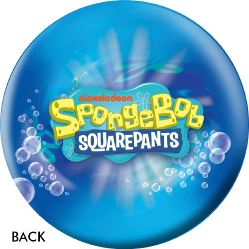 OTBB Spongebob & Patrick In A Bubble Bowling Ball