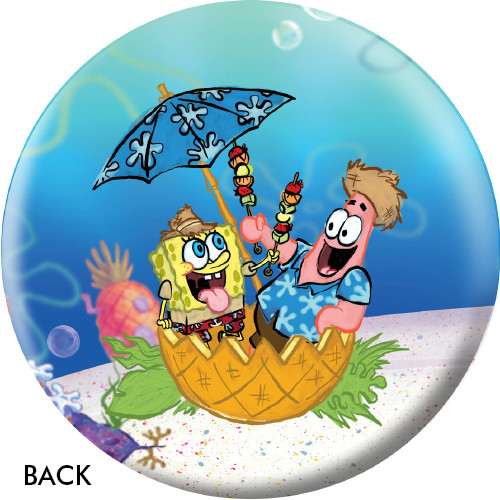 OTBB SpongeBob Beach Party Bowling Ball