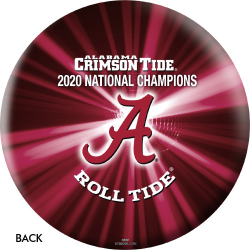 OTBB 2020 National Champions Alabama Crimson Tide Bowling Ball