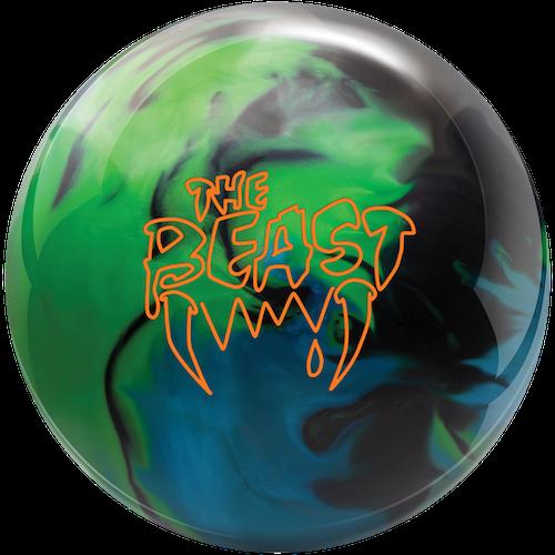 Columbia 300 Beast Lime/Sky/Black Hybrid Bowling Ball