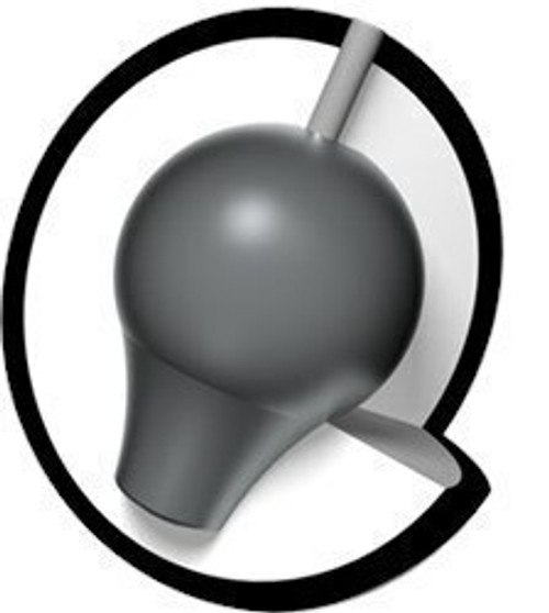 Brunswick Rhino Black/Green/Orange Bowling Ball Core
