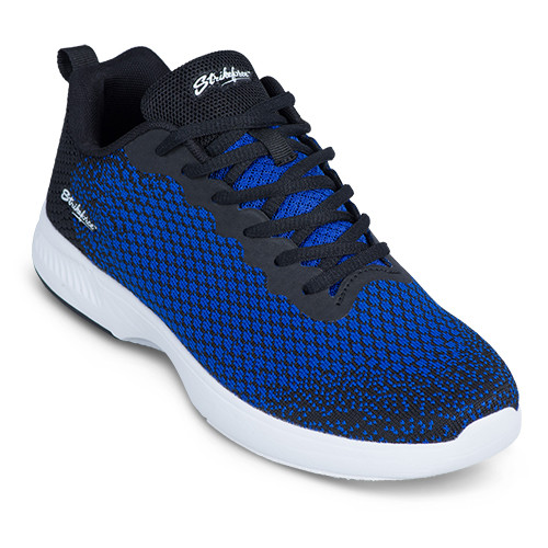 KR Strikeforce Mens Aviator Bowling Shoes Black/Blue