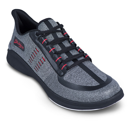 KR Strikeforce Mens Blaze Bowling Shoes Light Grey/Red