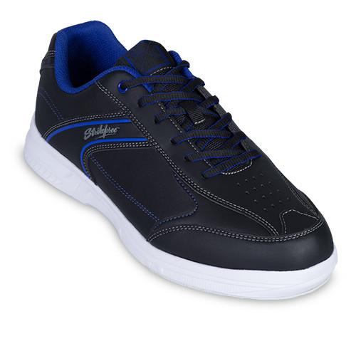 KR Strikeforce Mens Flyer Lite Bowling Shoes Black/Indigo
