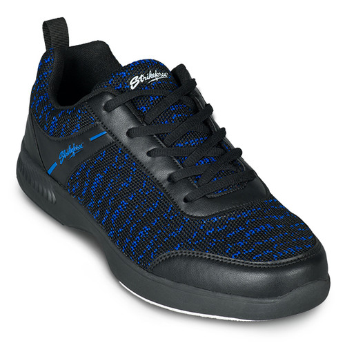 KR Strikeforce Mens Flyer Mesh Lite Bowling Shoes Black/Royal