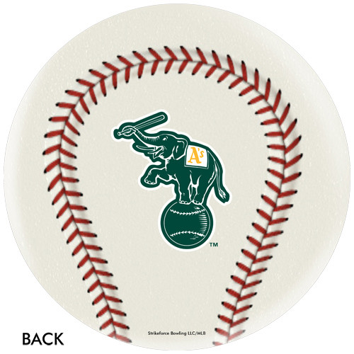 OTBB Oakland Athletics Baseball Bowling Ball