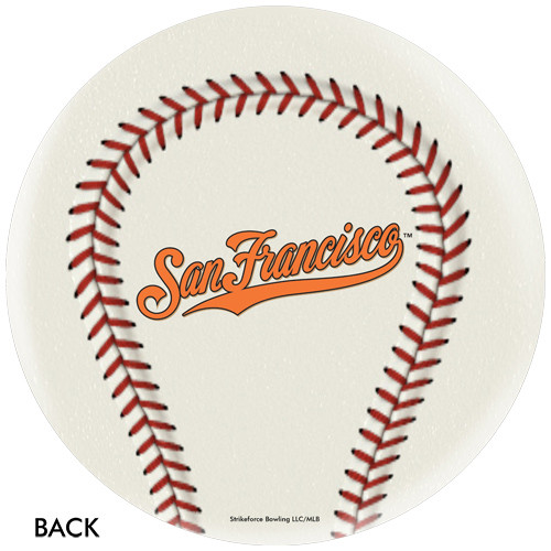 OTBB San Francisco Giants Baseball Bowling Ball
