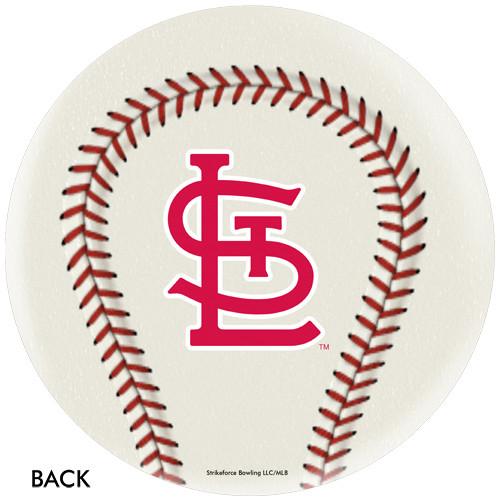 OTBB St. Louis Cardinals Baseball Bowling Ball