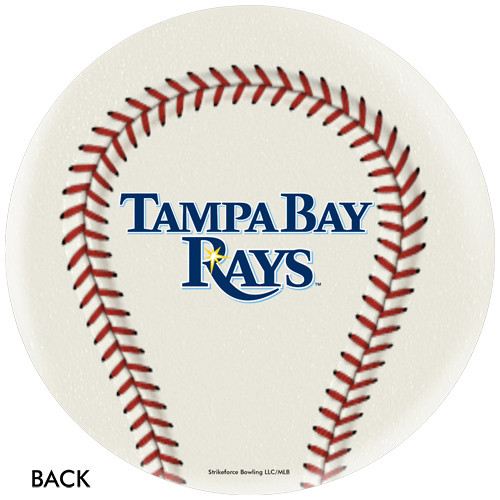 OTBB Tampa Bay Rays Baseball Bowling Ball