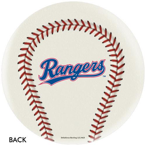 OTBB Texas Rangers Baseball Bowling Ball