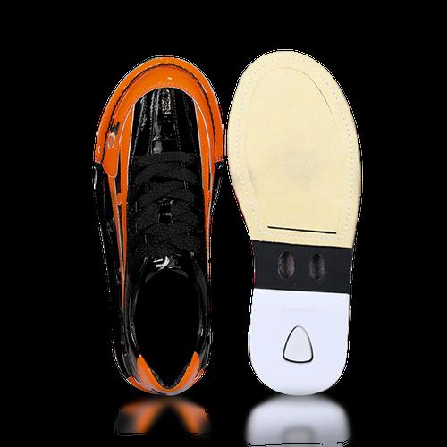 3G Tour Ultra/C Mens Bowling Shoes Black/Orange Right Hand