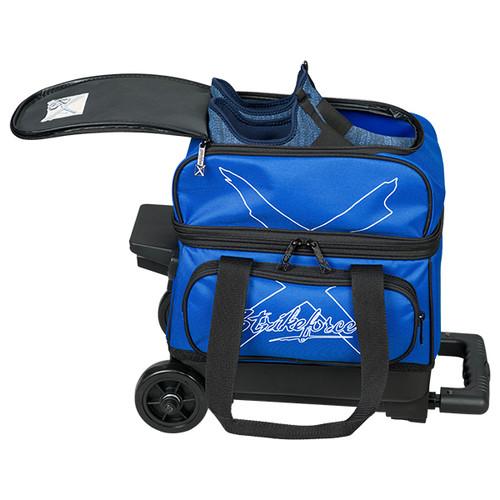 KR Strikeforce Hybrid 1 Ball Roller Bag Royal