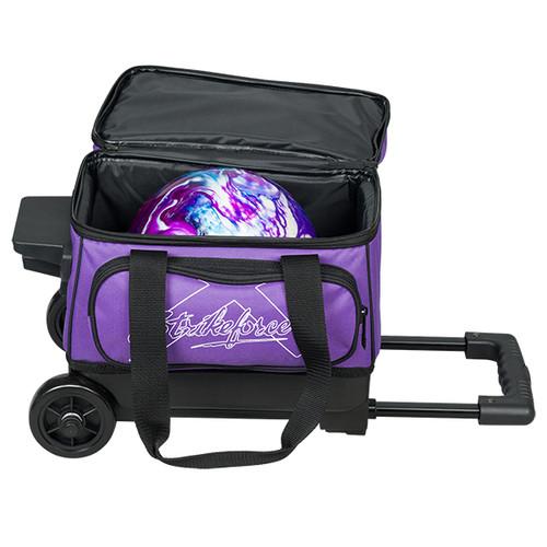 KR Strikeforce Hybrid 1 Ball Roller Bag Purple