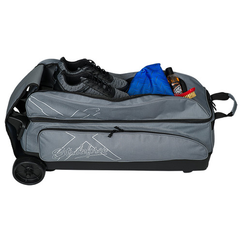 KR Strikeforce Hybrid X 3 Ball Roller Bag Charcoal