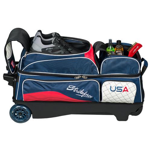KR Strikeforce Royal Flush 3 Ball Roller Bag USA