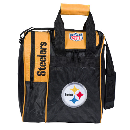 KR Strikeforce NFL Pittsburgh Steelers Single Tote Bowling Bag