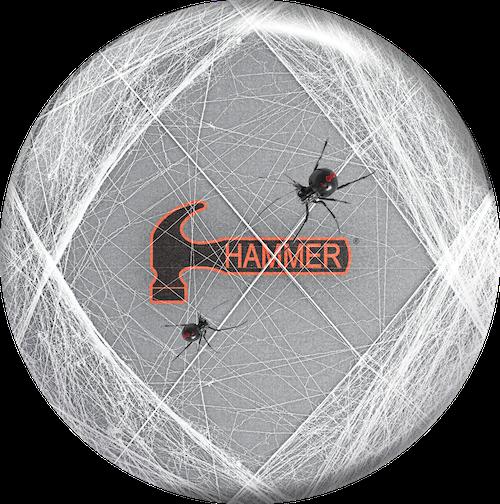 Hammer Black Widow Viz-A-Ball Bowling Ball