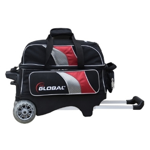900 Global Deluxe 2 Ball Roller Black/Red/Silver