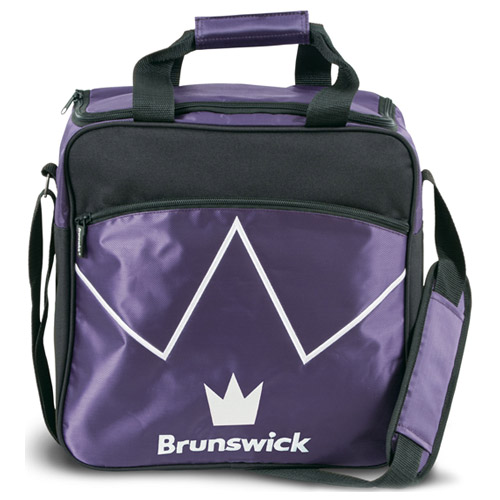 Brunswick Blitz Single Tote Bag Purple