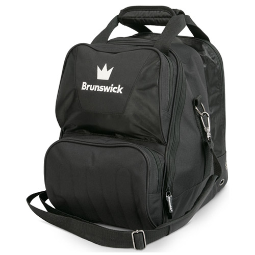 Brunswick Crown Single Tote Bag Black
