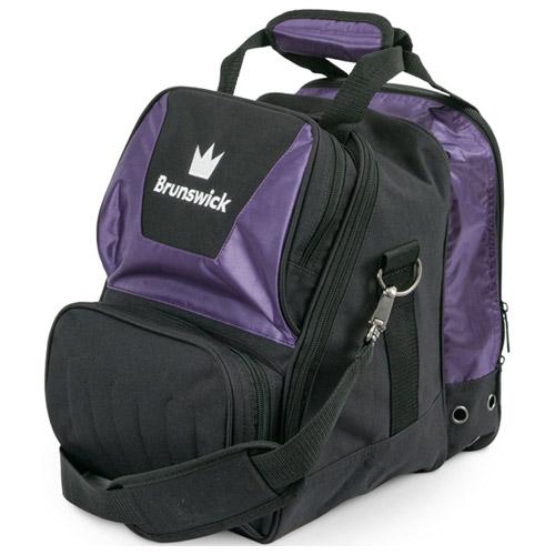 Brunswick Crown Single Tote Bag Purple