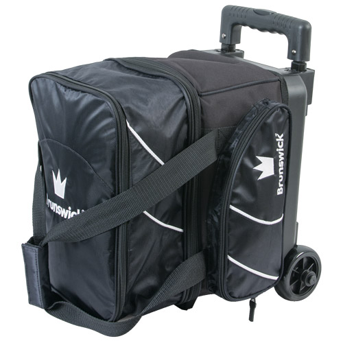 Brunswick Edge 1 Ball Roller Bag Black