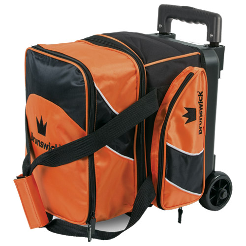 Brunswick Edge 1 Ball Roller Bag Orange