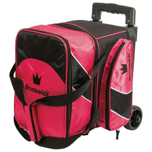 Brunswick Edge 1 Ball Roller Bag Pink