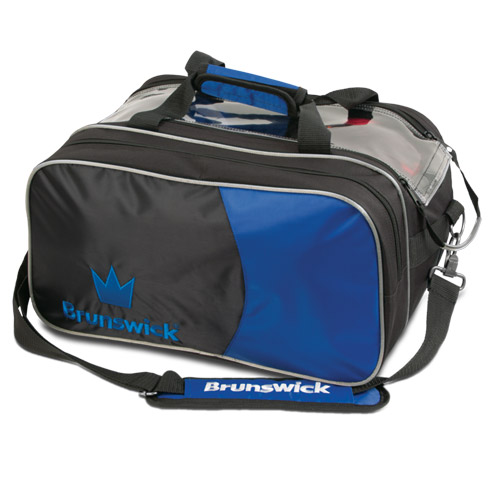 Brunswick Crown Double Tote Bag With Shoe Pouch Royal