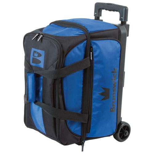 Brunswick Blitz 2 Ball Roller Bag Blue