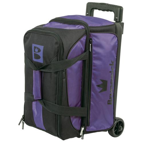 Brunswick Blitz 2 Ball Roller Bag Purple