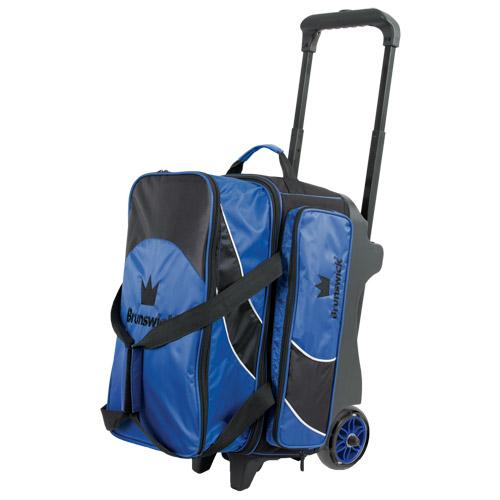 Brunswick Edge 2 Ball Roller Bag Blue