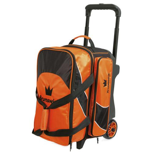 Brunswick Edge 2 Ball Roller Bag Orange
