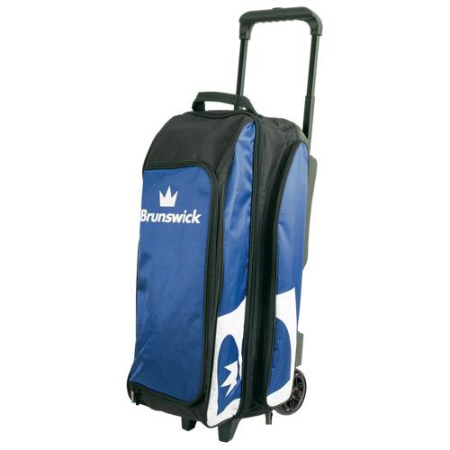 Brunswick Blitz 3 Ball Roller Bag Blue