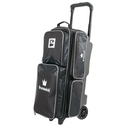 Brunswick Edge 3 Ball Roller Bag Black