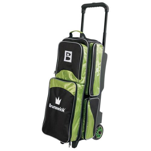 Brunswick Edge 3 Ball Roller Bag Lime