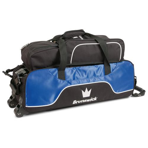 Brunswick Crown Triple Tote Bag With Shoe Pouch Royal