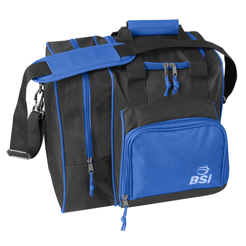 BSI Deluxe Single Ball Tote Bag Black/Blue